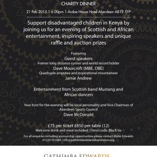 GEF Charity Dinner