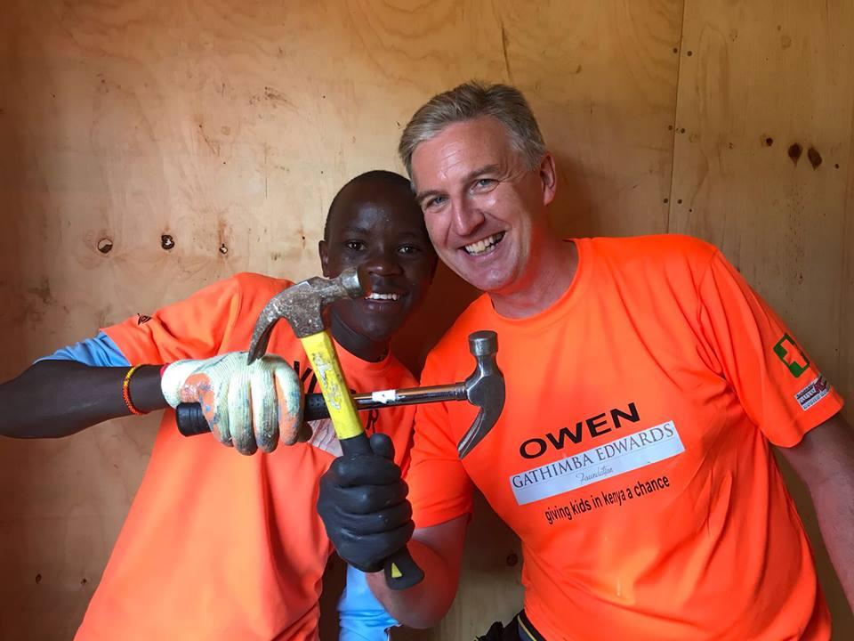 Build houses in Kenya volunteer